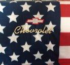 Chevrolet old USA pläd