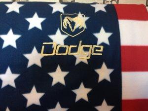 Dodge USA pläd