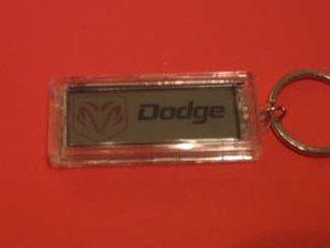 Dodge nyckelring