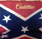 Cadillac old Sydstatspläd