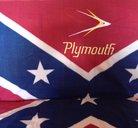 Plymouth old Sydstatspläd