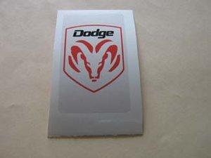 Dodge klistermärke/skattemärke