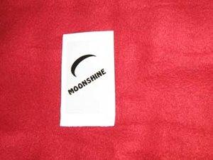Moonshine klistermärke/skattemärke