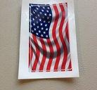 Flagga klistermärke/skattemärke