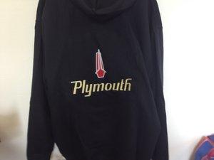 Plymouth huvtröja