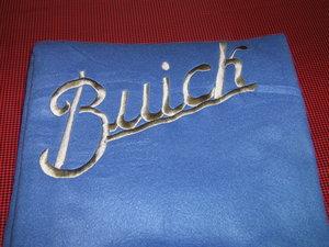 Buick pläd