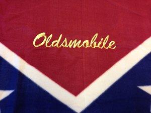 Oldsmobile old sydstatspläd