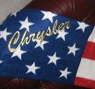 Chrysler old USA pläd