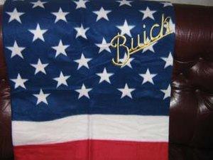 Buick old USA pläd