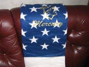Mercury USA pläd