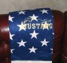 Mustang USA pläd