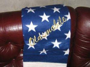 Oldsmobile old USA pläd