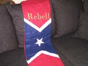 Sydstat rebell pläd
